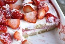 aardbeien lekkers