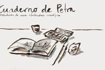 Cuaderno de Petra / Ilustraciones de los viajes de Petra