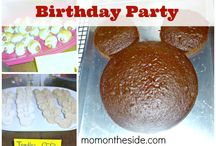 Mickey Mouse Birthday party.