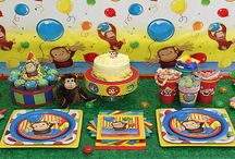 Curious George Birthday Theme
