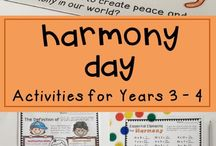 Harmony Day activities for Kids / Ideas and lesson inspiration about celebrating Harmony Day with primary school students in Australia.