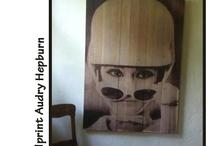 Woodprints / Woodprint - back to wood