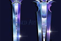 Diseños Armas, Armaduras, Báculos & Objetos Varios / Complementos mágicos, pines, llaves, joyería mágica (?), prendas mágicas...