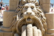 ARENAS - NIEVE - ESCULTURAS / www.manualidadespinacam.com