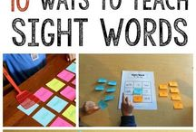 Reading and sight words activities for kids / Kids activities for reading, ABC, phonics, sight words