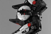 Vaisseaux spatiaux / création de vaisseaux de science -fiction