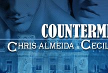 Countermeasure Series Facebook Covers / Facebook covers with the series' novels.