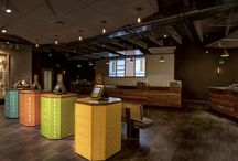 Dispensaries We Love / Cannabis dispensaries and retailers that exhibit exceptional design and attention to aesthetics.