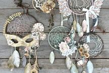 Dream catchers and sun catchers