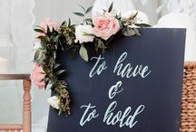 Winter Wedding Inspiration / Winter wedding decors, bouquets, and other (floral) inspiration!