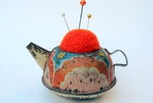 Pincushions / by Frances Howell