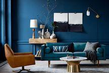 Kleuren huiskamer