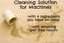 Cleaning solutions / by Gloria Varney