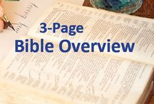 Bible Overview / Documents that help to understand