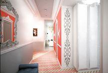 Коридор и холл / Hall / Общие зоны в квартирах и домах от студии Finoarte