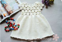 Crochet dresses for little girls