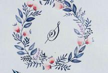 grafika_watercolor calligraphy