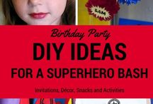 DC Super Hero Girls Party