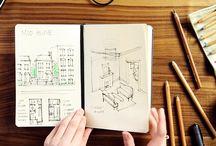 Notebooks, pencils & co.