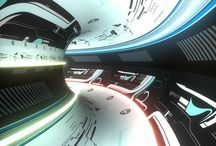 SciFi interiors