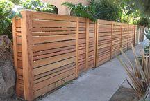 Stylish wood fence ideas