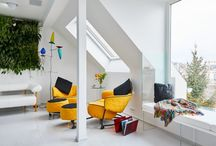 Colourful Living Spaces
