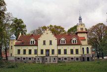 Laskowo - Pałac / Pałac w Laskowie zbudowany w 1842 roku dla rodziny von Prollius. W 1914 roku właścicielem majątku było małżeństwo Dorothei z domu Neubrink i Artura Langleta, porucznika rezerwy w 6 pułku huzarów. W 1929 r. folwark w Laskowie należał do Johanny von Clave Bouhaben. Ostatnim niemieckim właścicielem majątku w 1939 r. był Hans Karl von Rohr. Po II wojnie światowej w dawnym folwarku funkcjonował PGR. Obecnie pałac należy do prywatnego właściciela.