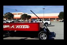 Viral Video - AMAZING - Video Radio Flyer Hot Rod Wagon in US