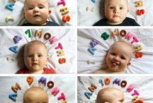 Fotografías de tu bebé en la habitación / Ideas para incluir las fotos de tu bebé en la decoración de su habitación.