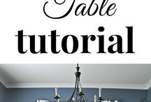 Farmhouse table ideas