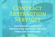 Legal Contract Extraction Services to Law Firms & Attorneys / Cogneesol offers best legal contract extraction services to attorneys and law firms across worldwide. You are just a click away from your free trial!!