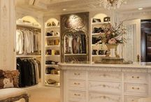 Closet / Luxury closet design ideas with industrial, rustic, and steampunk inspired spaces.