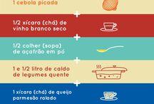 Receitas para Fazer em Casa / Um guia rápido para as melhores receitas :)