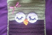 Crochet Hot Water Bottle covers