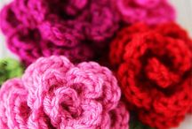 Crochet - Flowers. / by Ashley Curry