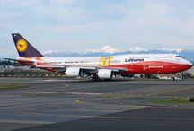 Vliegtuigen Lufhansa / Overzicht Lufthansa