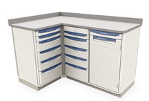 Starsys Stationary WorkCenters w/Laminate Tops