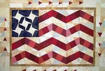 Patriotic / Let your Grand Old Flag fly with these patriotic Fabric Essentials designs!