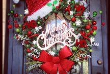 Home-made Christmas decorations