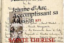 Thérèse de Lisieux & Jeanne d'Arc