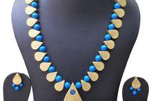 Terracotta jewel