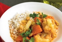 Vegetarian Ethnic Dishes / Curries, stir fries, and other ethnic dishes made without animals.