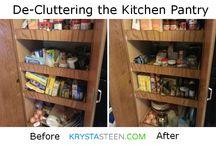 Organize / Organize my house, files, blogging info, children...