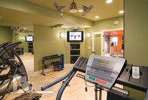 Home Gym Ideas / by FitGirlsRock Melissa Shevchenko