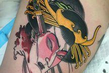 japanese namakubi tattoo