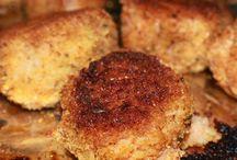 Veggie Burgers,Meatballs,Fritters / Vegetarian burgers,meatballs and fritters