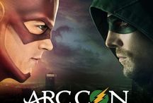 ArcCon / First #Flarrow convention with guests from #Arrow & #TheFlash ~ Manu Bennett & Rick Cosnett confirmed!
