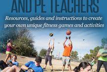 PE teacher ideas
