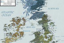 Mappe, Luoghi ed Interni / Raccolta di Mappe, Luoghi, Interni e quant'altro di similare.