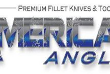 American Angler Fillet Knifes and Accessories / American Angler produces Electric Fillet Knives and Manual Fillet Knives along with a line of accessories for each.  American Angler is American Owned and American made.  Our products are heavy duty and offer a variety of packages to fit your needs.  Check it out at americananglerusa.com